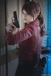 Claire Redfield Resident Evil 2 Remake cos by Rael-chan89