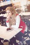 Ann Takamaki cosplay casual winter date