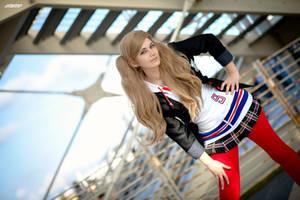 Anne Takamaki school cosplay Persona 5 by Rael-chan89