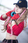 Anne Takamaki Dancing star night cosplay Persona 5 by Rael-chan89