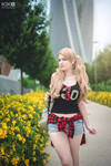 Ann Takamaki cosplay casual summer date by Rael-chan89
