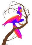 Spectrum Raptor by kittyliker