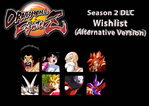 Dragon Ball: FighterZ - Season 2 DLC Wishlist 2