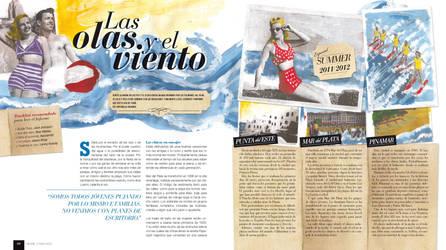Las Olas y el Viento - 1/2 by El-ArGeNtO