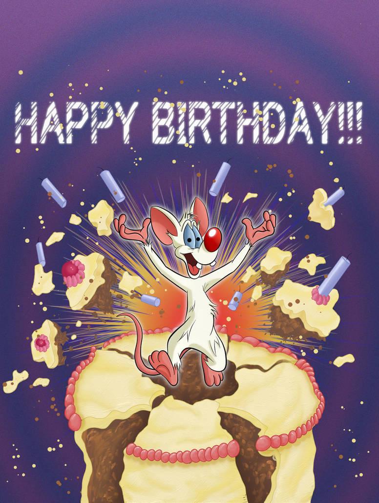 Request Pinkys Birthday Card By Infindibulator On Deviantart