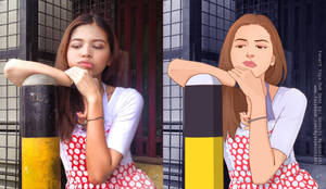 Before and after Yaya Dub