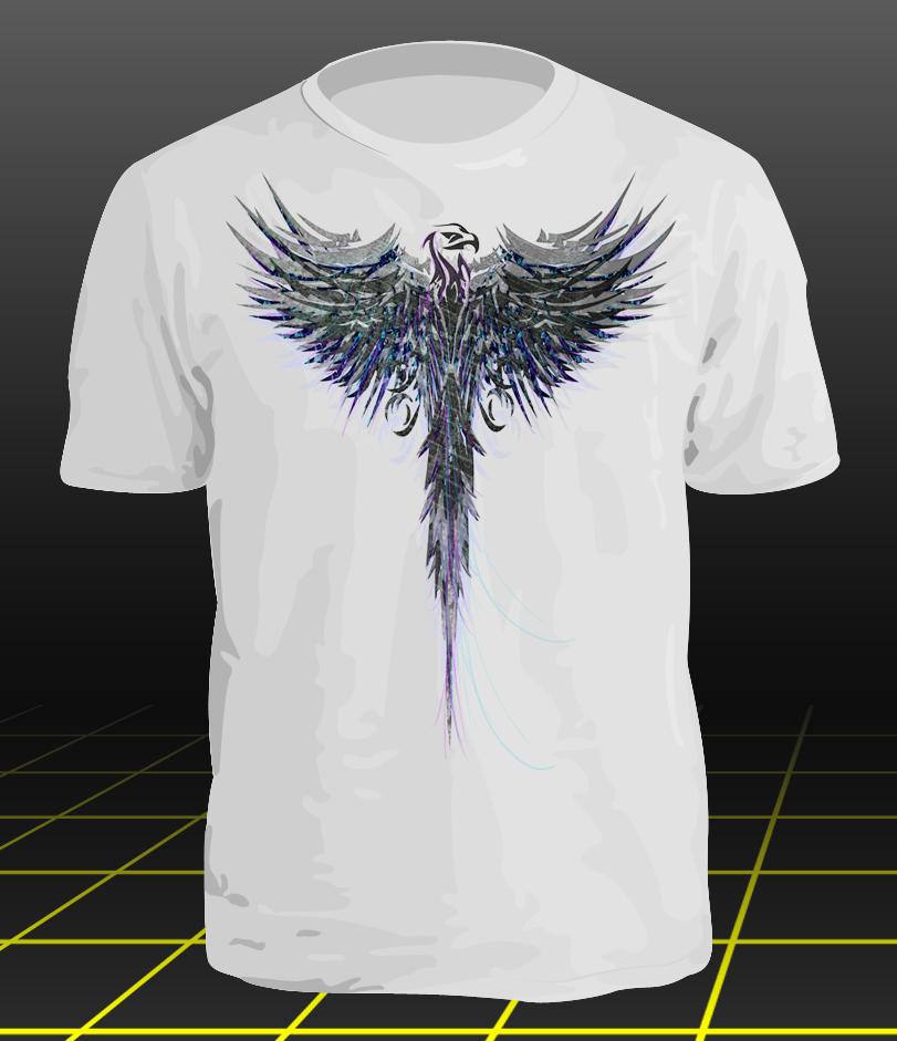 Eagle t shirt design by reflectionartwork on deviantart for How to make t shirt art