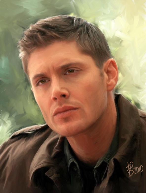 Dean Winchester Portrait by virgothedreamer on DeviantArt