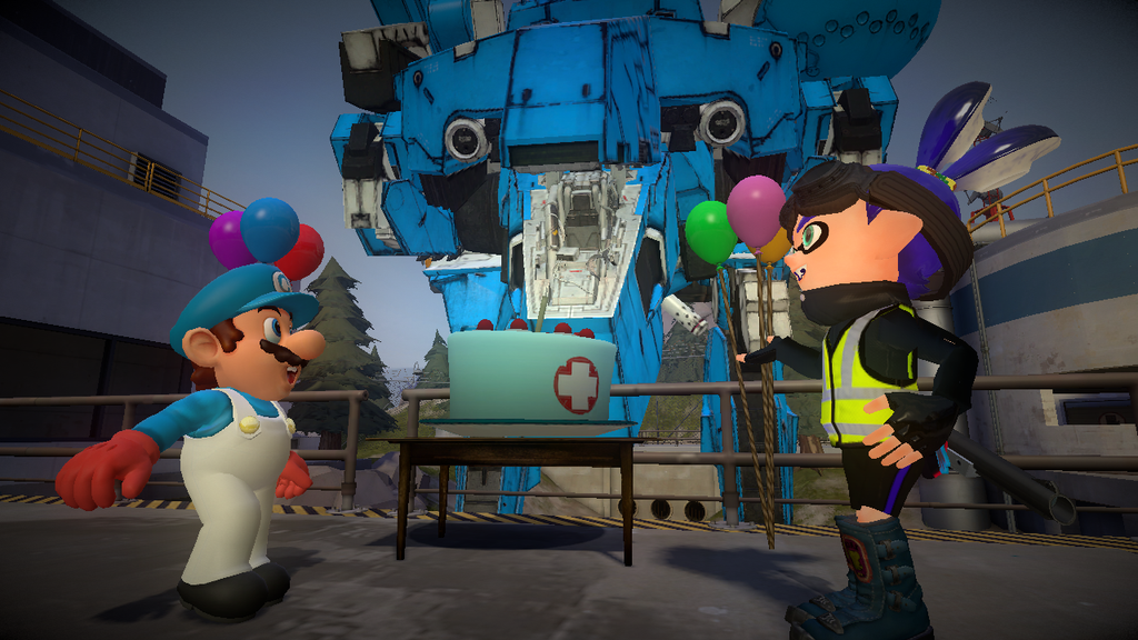 [Gmod/Splatoon] A gift that doesn't fit in a box. by Sonic911229