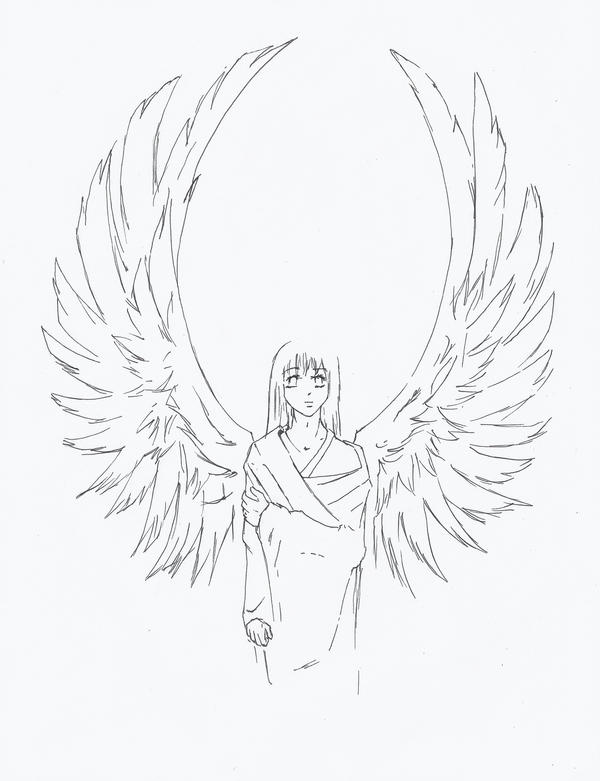 Angel Wings by riceballclubdotorg on DeviantArt | 600 x 781 jpeg 53kB