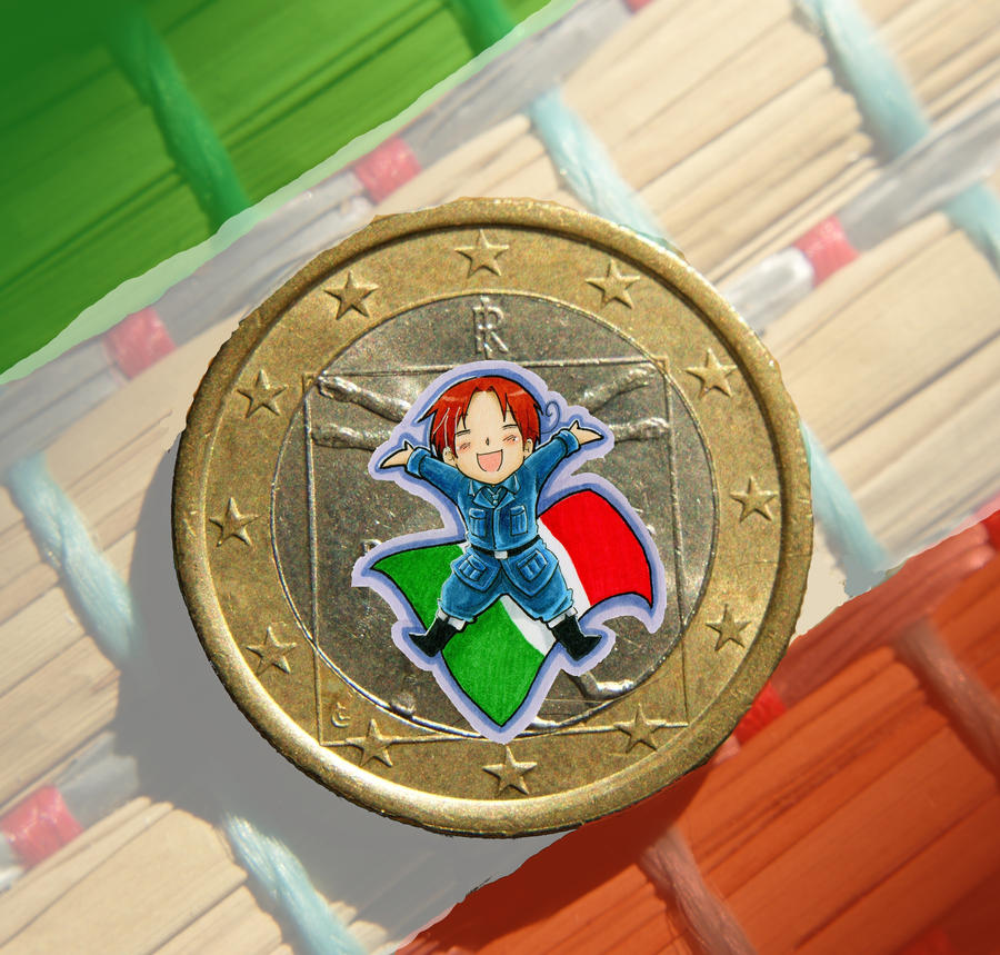 One Euro of Italy by jawazcript