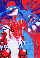 Kyogre and Groudon by jawazcript