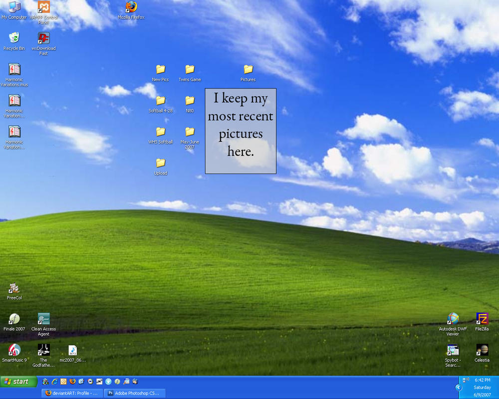 Desktop June 9 2007 by calebrw