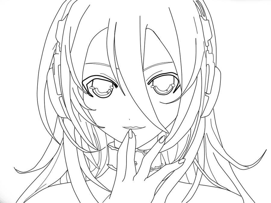 Line Art Lily : Lily vocaloid lineart by cloudchaserm on deviantart