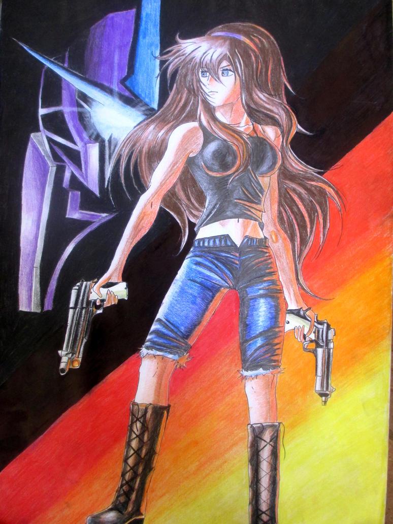 Nikki Clyne Poster by rachelegranger