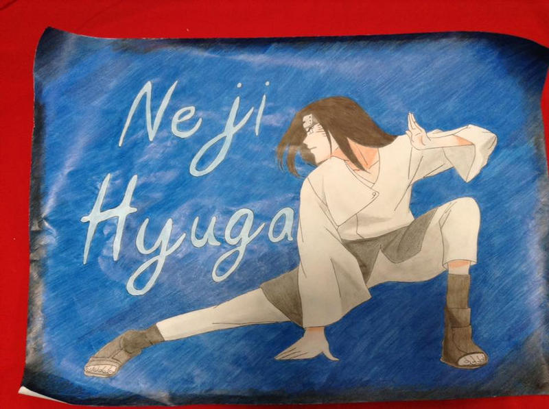 Neji Hyuuga by rachelegranger