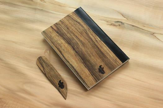 Notebook in wood #3 Frake