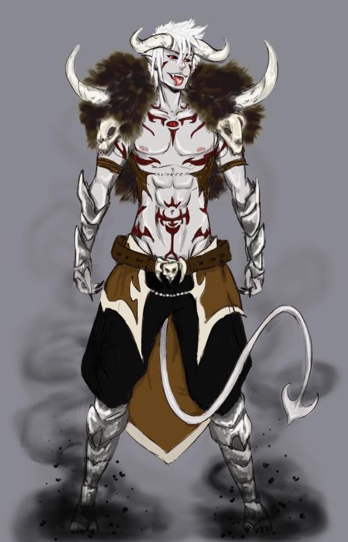 Elders Temple  Demon By Zoidsfan507 by Ulalah
