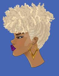 Monique aux cheveux d'or