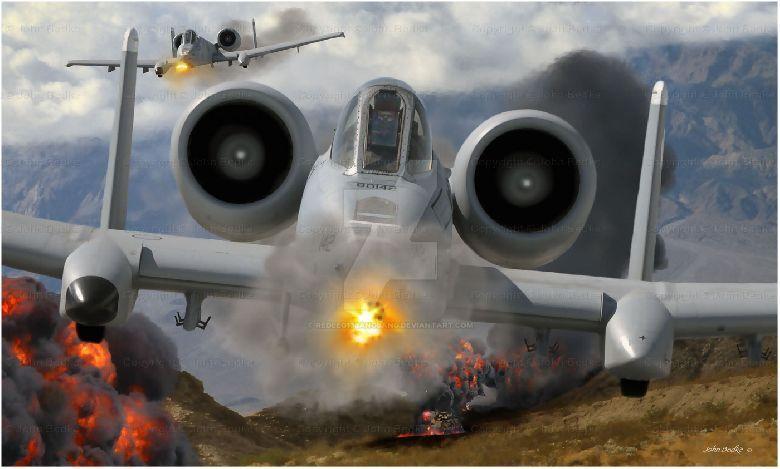 A10 Thunderbolt Warthog  Airforce Technology