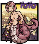 Slithery Snake Woman Isis