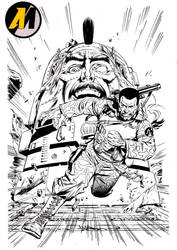 Action man Inks by Margriff
