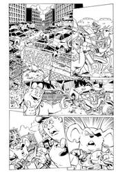 Biker Mice from Mars page 1 by Margriff