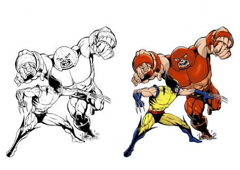 Wolverine v Juggernaut