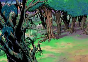 X-men Dvd background