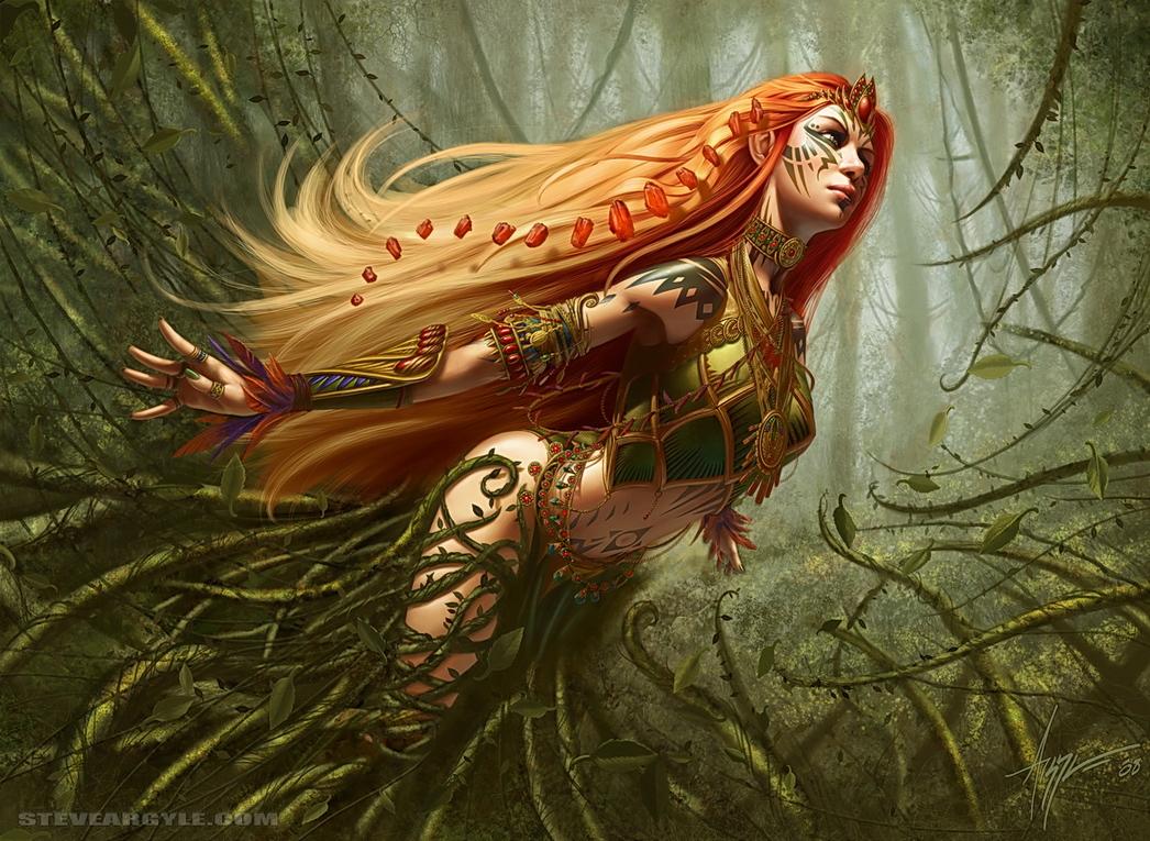 Naya Battlemage by SteveArgyle