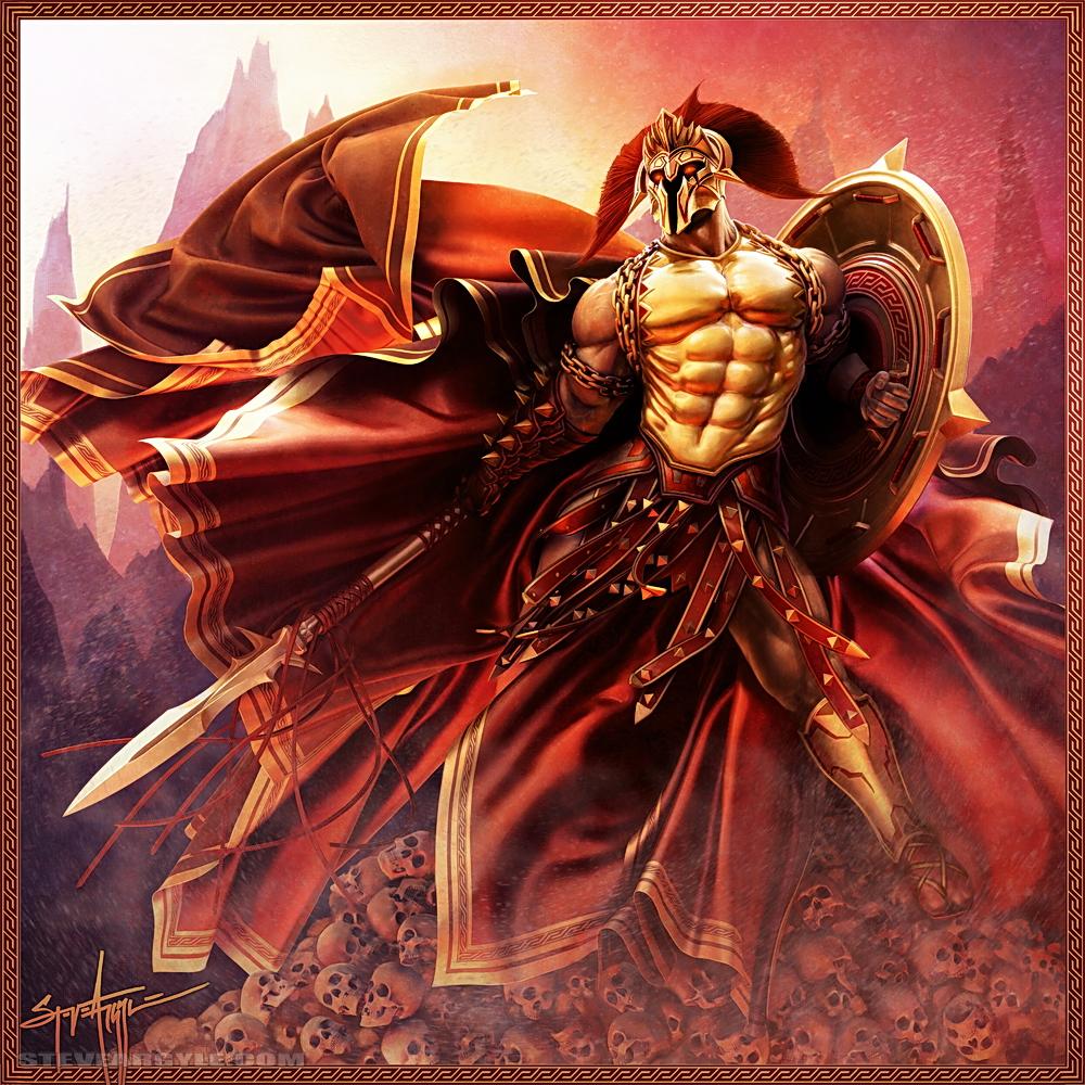 Bios God_of_War__by_SteveArgyle