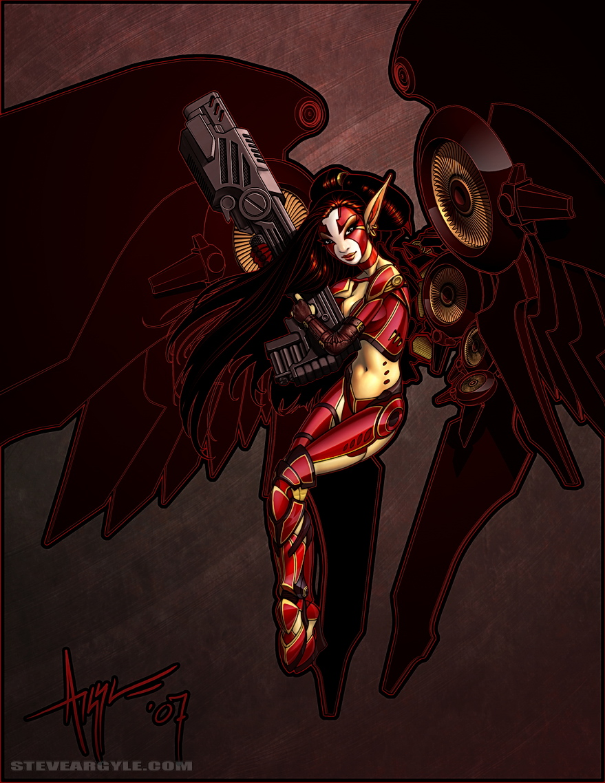 Geisha Cyberfey by SteveArgyle