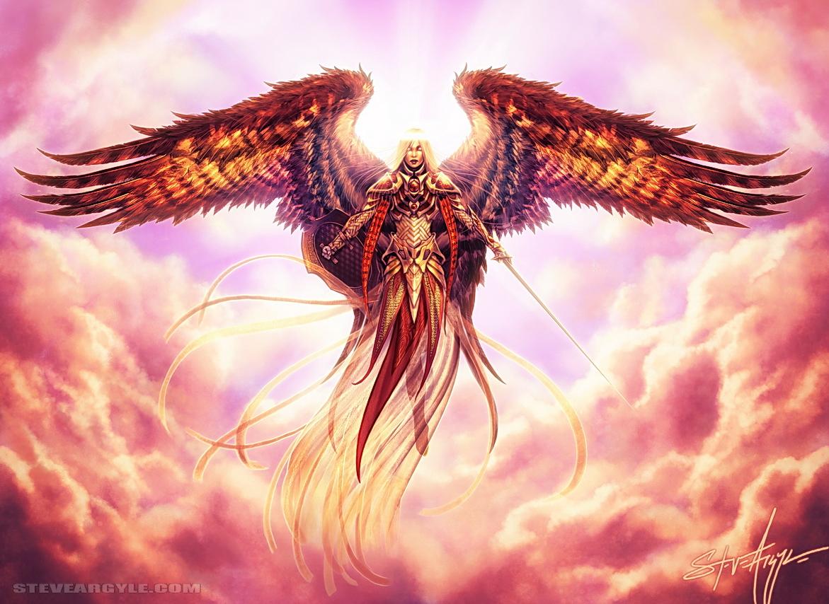 Angelic Arbiter by SteveArgyle