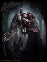 Sad Angel number 6,254,957,314 by SteveArgyle