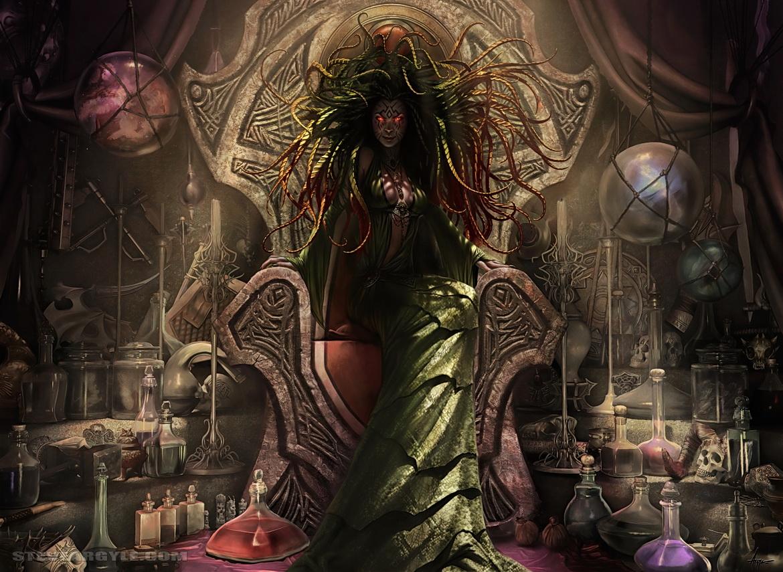 Damia, Sage of Stone by SteveArgyle
