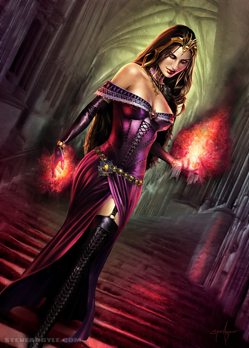 Liliana Vess.  Card version by SteveArgyle