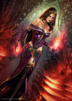 Liliana Vess.  Extras version