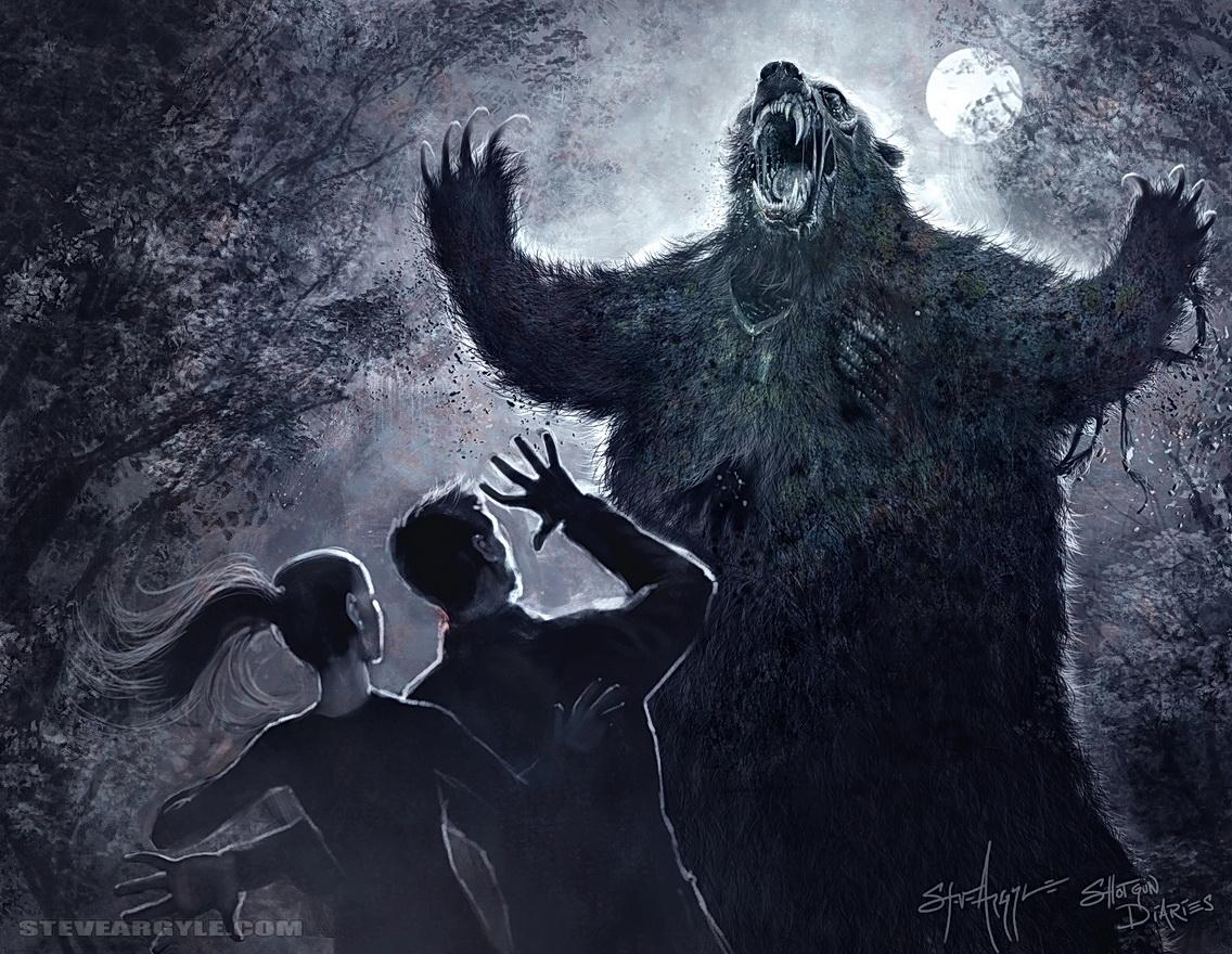Zombie Kodiak By Steveargyle On Deviantart