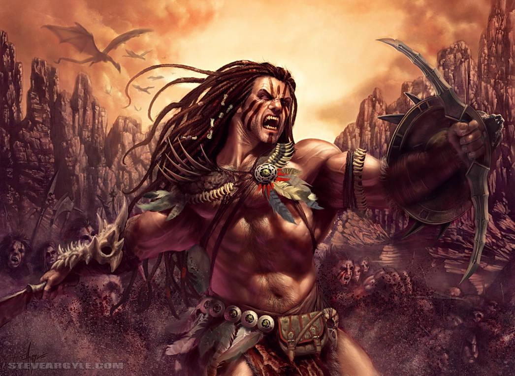 Kresh, the Bloodbraided by SteveArgyle