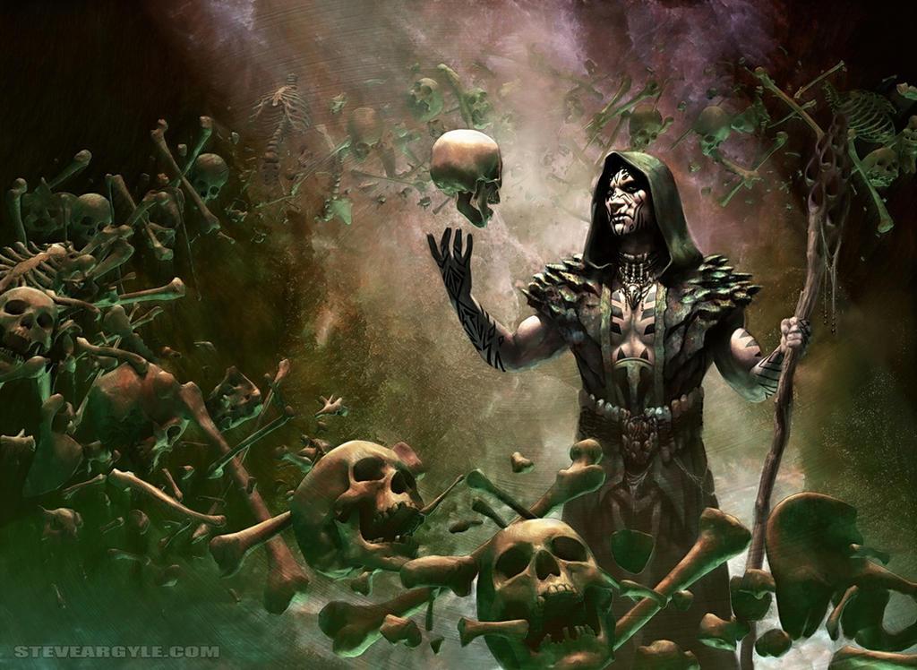 Resultado de imagen de deathrite shaman art
