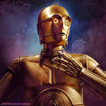 C-3PO by SteveArgyle
