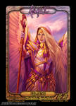 Christine Sprankle cosplay angel token for charity