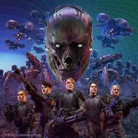 Terminator Genisys: Fall of Skynet by SteveArgyle