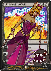 Bowsette Liliana of the Veil