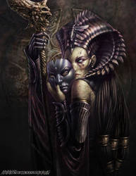 Cleopsis, Eater of the Dead by SteveArgyle