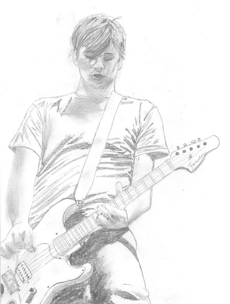 Guitar Boy by abuse27me on DeviantArt Boy With Guitar Drawing