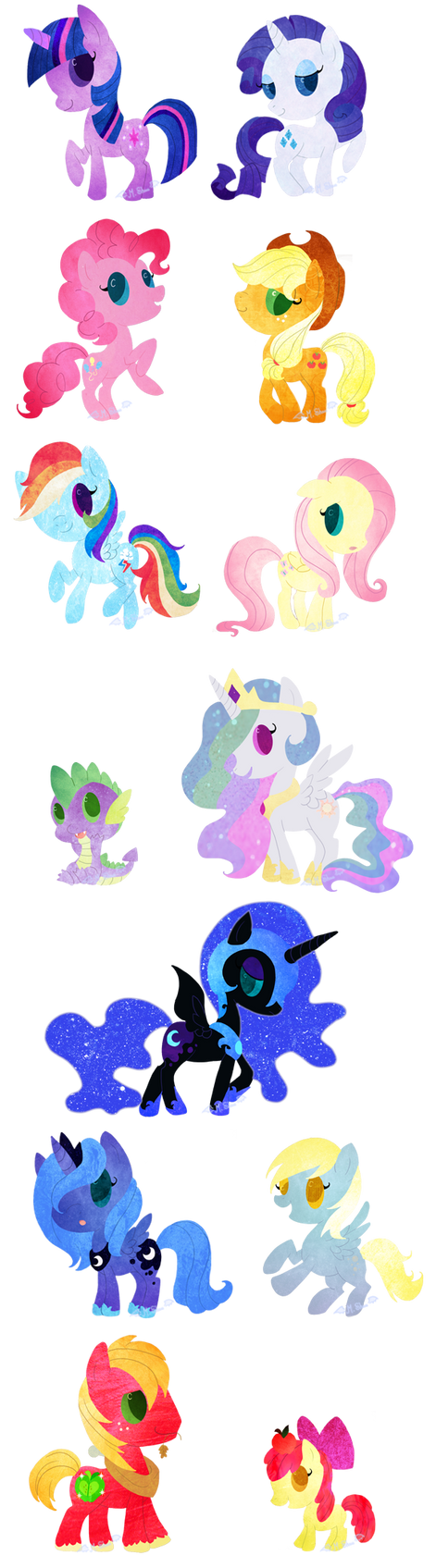 My Little Pony: FiM by CharmingNightmare
