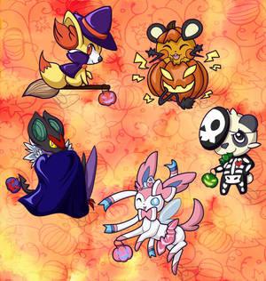 Halloween Gen6 Pokemon