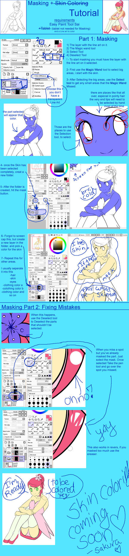 Sai Tutorial: Masking by SakuraChan776