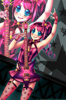 Star Guitar Pink version by SakuraChan776